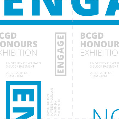 Honours Degree Show 2013 Graphic